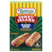 Nathan's Coney Island Bagel Dogs