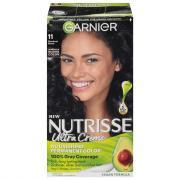 Garnier Nutrisse Cream #11 Blackest Black Color Kit