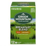 Green Mountain Breakfast Blend Decaf K-Cups