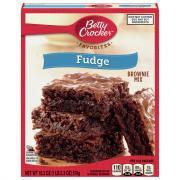 Betty Crocker Fudge Brownie Mix