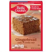 Betty Crocker Gingerbread Mix