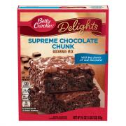 Betty Crocker Chocolate Chunks Supreme Brownie Mix