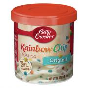 Betty Crocker Rich & Creamy Rainbow Chip Frosting
