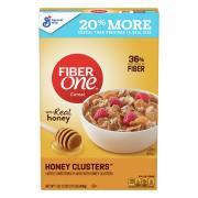 General Mills Fiber One Honey Clusters Cereal
