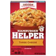 Betty Crocker Hamburger Helper Three Cheese