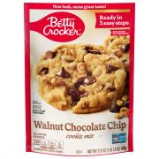 Betty Crocker Walnut Chocolate Chip Cookie Mix