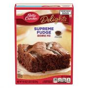 Betty Crocker Supreme Fudge Brownie Mix