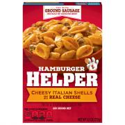 Betty Crocker Hamburger Helper Cheesy Italian Shells