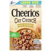 General Mills Cheerios Oat Crunch Oats 'N Honey