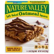 Nature Valley Oatmeal Banana Bread & Dark Chocolate Squares