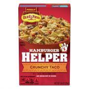 Betty Crocker Hamburger Helper Crunchy Taco