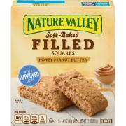 Nature Valley Honey Peanut Butter Soft Baked Filled Squares