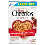 General Mills Maple Cheerios Gluten Free Cereal Large Size