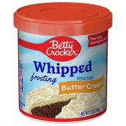 Betty Crocker Whipped Buttercream Frosting