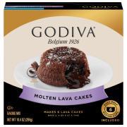 Godiva Molten Lava Cakes Baking Mix