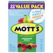 Mott's Medleys Assorted Fruit Flavored Snacks