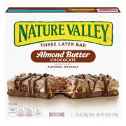 Nature Valley Almond Butter Chocolate Layered Granola Nut