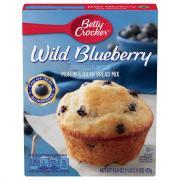 Betty Crocker Blueberry Box Muffin Mix