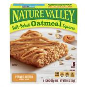 Nature Valley Soft Baked Oatmeal Squares with Peanut Butter