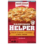 Betty Crocker Hamburger Helper Four Cheese Lasagne