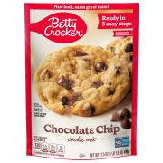 Betty Crocker Chocolate Chip Cookie Mix Pouch