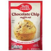 Betty Crocker Chocolate Chip Pouch Muffin Mix