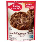 Betty Crocker Double Chocolate Chunk Pouch Cookie Mix