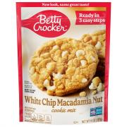 Betty Crocker White Chip Macadamia Nut Cookie Mix