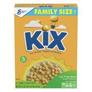 General Mills Kix Cereal Family Size