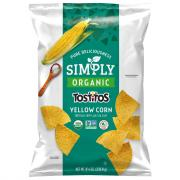 Simply Tostitos Organic Yellow Corn Tortilla Chips