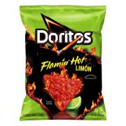 Doritos Flamin' Hot Limon Tortilla Chips