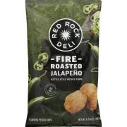 Red Rock Deli Kettle Chips Fire Roasted Jalapeno