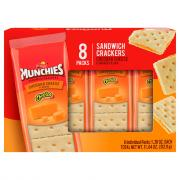 Frito Lay Munchies Cheddar Cheese Crackers