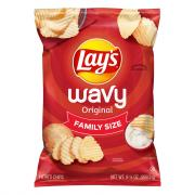 Lay's Wavy Original Chips Family Size