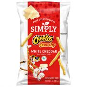 Simply Cheetos Crunchy White Cheddar Snacks