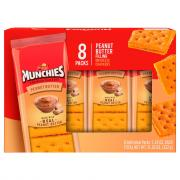 Frito Lay Munchies Cheese Peanut Butter Crackers