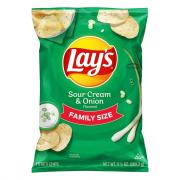 Lay's Family Size Sour Cream and Onion