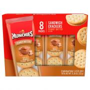 Frito Lay Munchies Peanut Butter Crackers