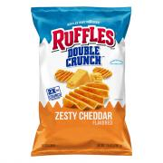 Ruffles Double Crunch Zesty Cheddar Chips