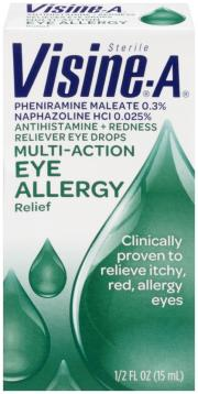 Visine A Multi-Action Eye Allergy Relief