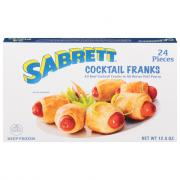 Sabrett Cocktail Franks in Puff Pastry