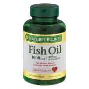 Nature's Bounty Fish Oil Enteric Coated 1000 mg Softgels