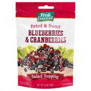 Fresh Gourmet Dried Blueberries and Cranberries