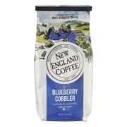 New England Coffee Blueberry Cobbler