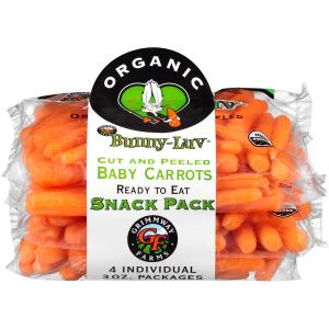 Grimway Farms Organic Baby Carrots Snack Pack