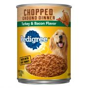 Pedigree Chunky Turkey & Bacon Dog Food