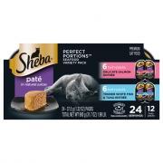 Sheba Perfect Portions Salmon & Whitefish & Tuna Pate