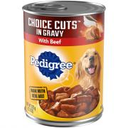 Pedigree Choice Cuts w/Beef Dog Food