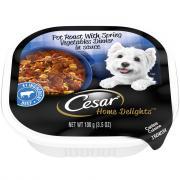Cesar Home Delights Pot Roast with Vegetables Dinner