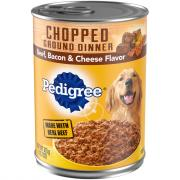 Pedigree Ground Dinner Beef Bacon Cheese